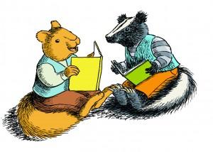 Squirrel skunk reading (2)