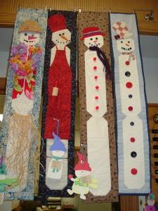 snow men quilts 002