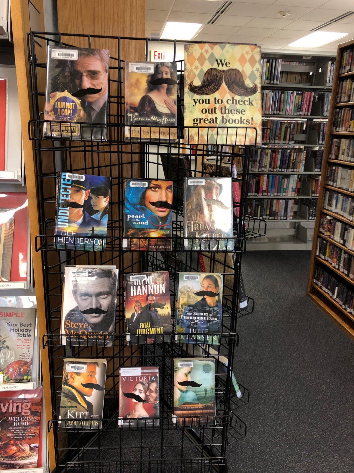 We Mustache You to Stop in This Month