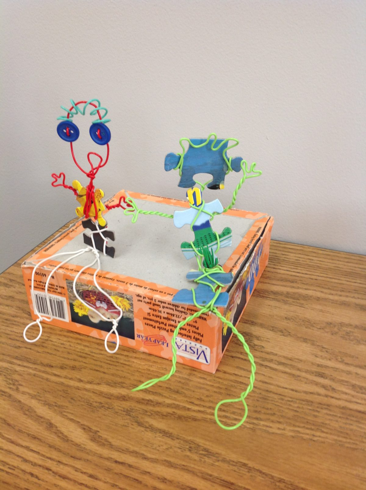 A.R. T. Students Create Wire Sculptures